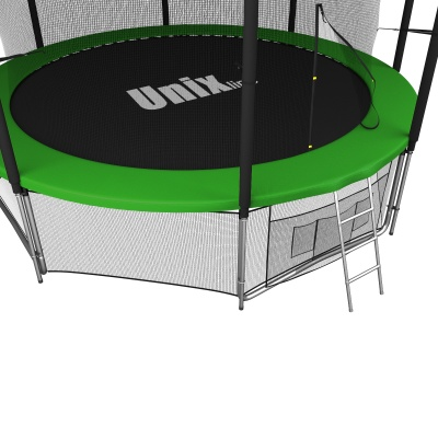 Батут UNIX line 14 ft inside (green)