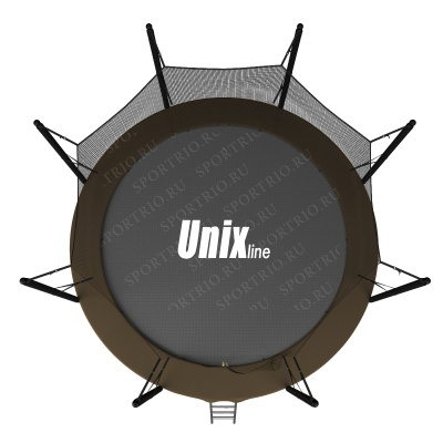 Батут UNIX line 12 ft Black&Brown (inside)